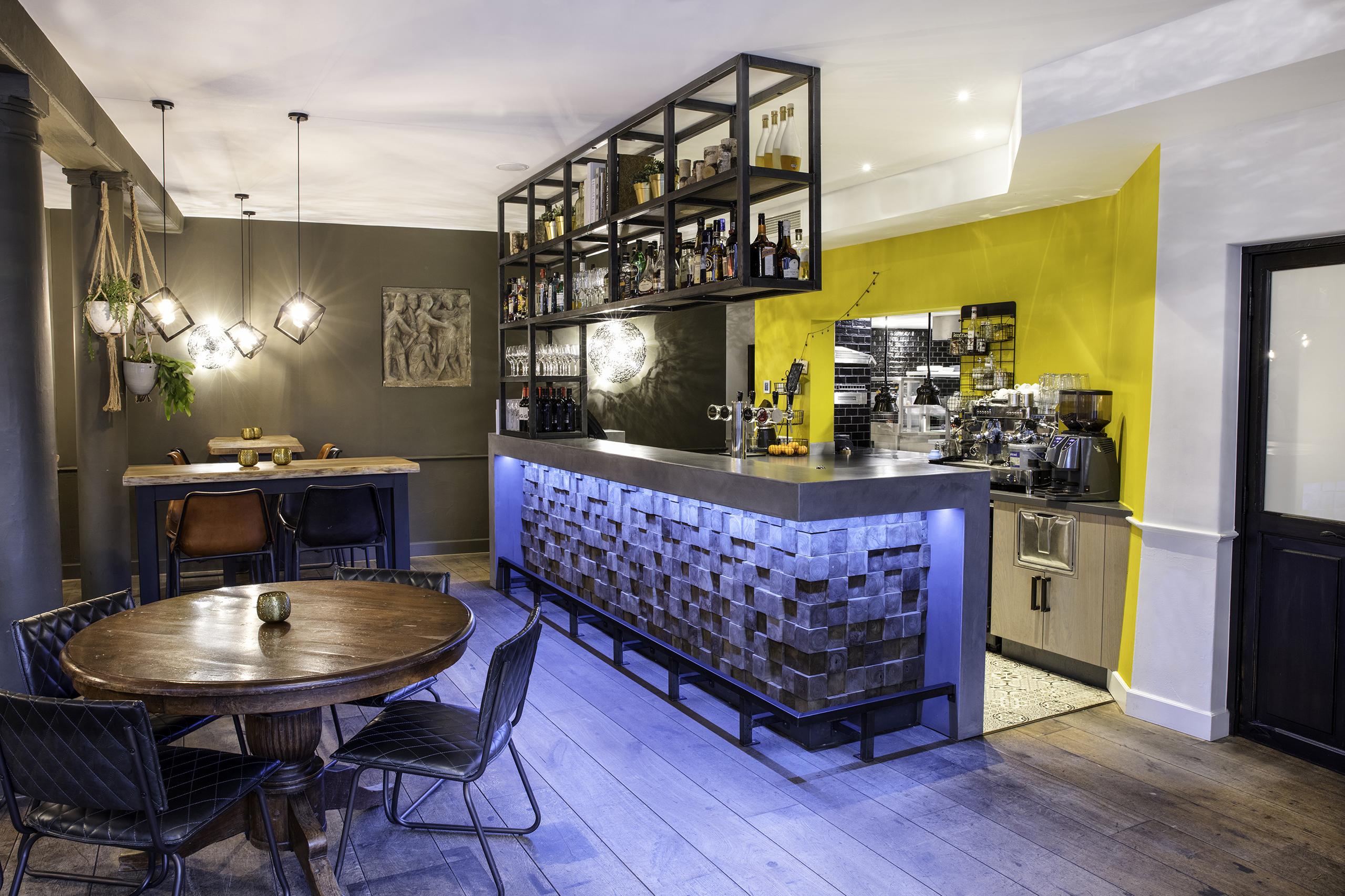 rietveld interieurbouw restaurant Brasserie Joia oudewater inrichting 3